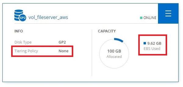 データ保存領域のクラウド移行検証 2