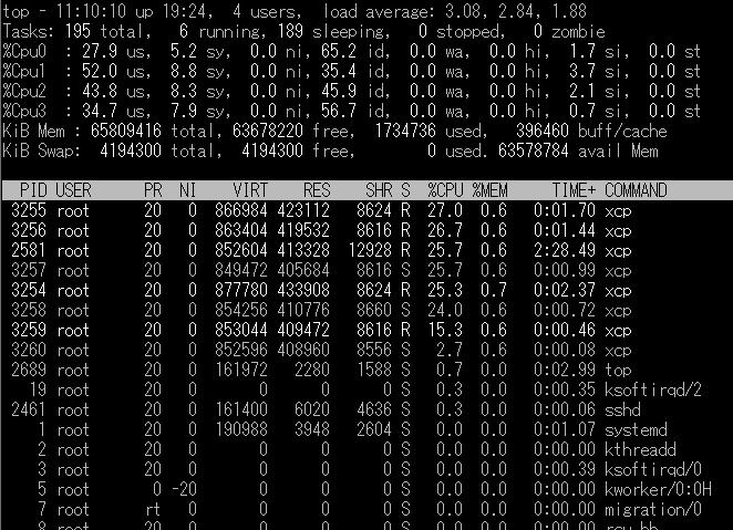 NFS+スモールファイルのテスト結果 (XCP)_2