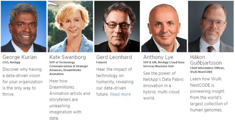 NetApp Insightゼネラルセッション