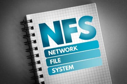 瞬間移動!!データの同期速度(3)NFS+ラージファイル