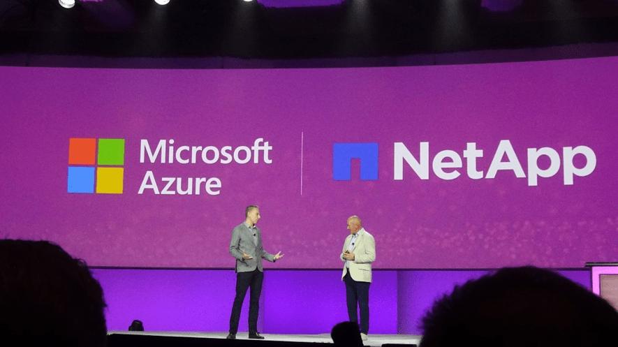 Netppとマイクロソフト