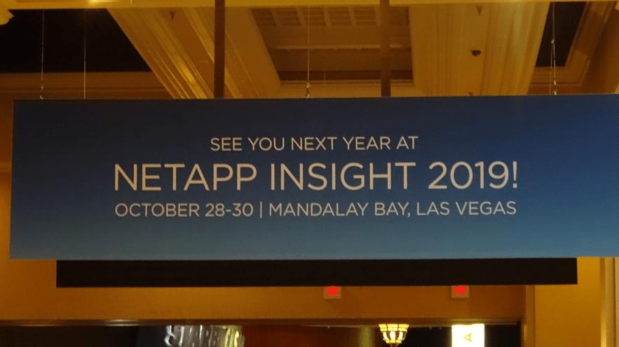 NetApp Insight 2019