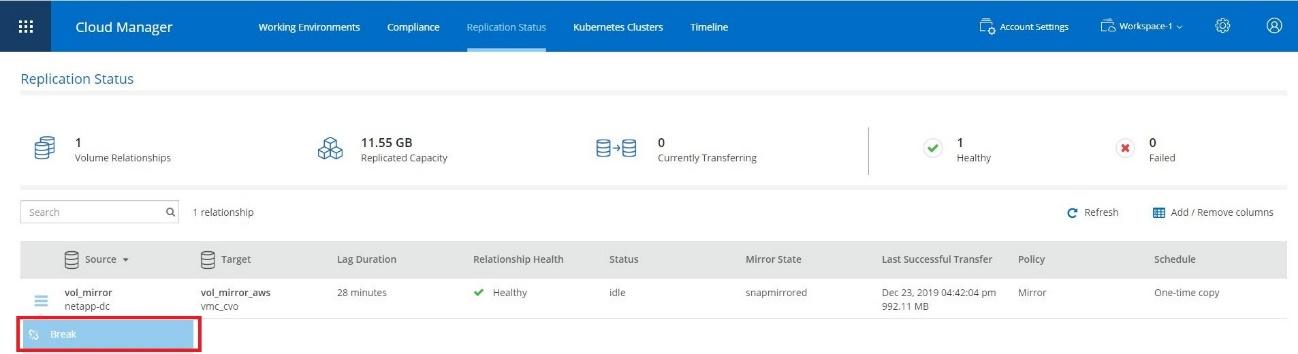 データ保存領域のクラウド移行検証 5